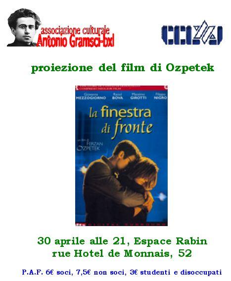 Associazione culturale antonio gramsci bruxelles - Film la finestra di fronte ...